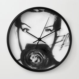 Hello P!NK Wall Clock