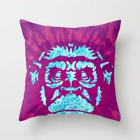 ape Throw Pillows featuring Ape by NewFoundBrand