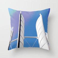 Metal Sails #1 Throw Pillow