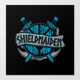 shieldmaiden #3 Canvas Print