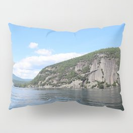 Roger's Rock on Lake George in the Adirondacks Pillow Sham