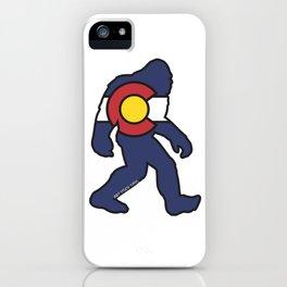 Colorado Bigfoot iPhone Case