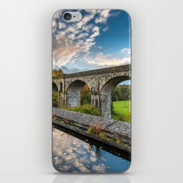 Chirk Aqueduct And Viaduct iPhone Skin