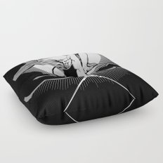 The Ancient of Days Floor Pillow