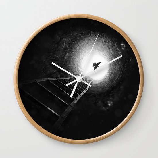Light Redemption Wall Clock