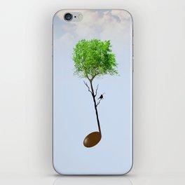 Music tree iPhone Skin