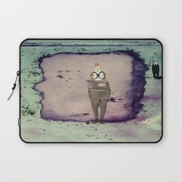 Time Rabbit I Wanna Laptop Sleeve