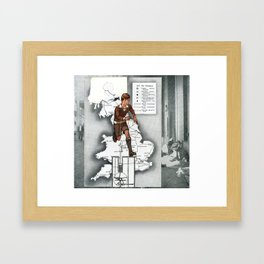 Getting To Know Yourself Framed Art Print