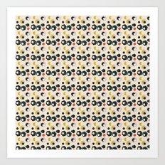 Fun he- hexagons Art Print