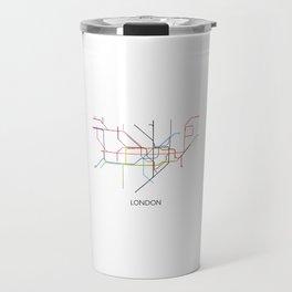 London Subway Map Print - London Metro Travel Mug