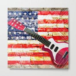 Sounds of America Metal Print