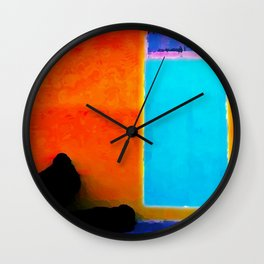 Musian Obscured Wall Clock