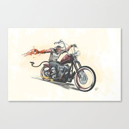 Devil's Ride Canvas Print