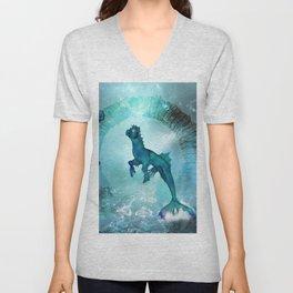 Fantasy seahorse Unisex V-Neck