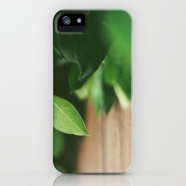 Life Green iPhone Case