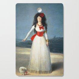 Francisco De Goya - The Duchess Of Alba Cutting Board