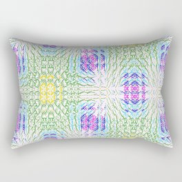 """series """"Stained glass"""" - seven colors Rectangular Pillow"""