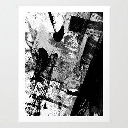Black and White 01013 Art Print