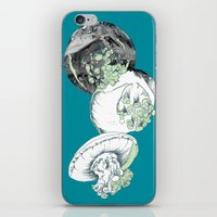 jelly fish iPhone & iPod Skins featuring Jelly Fish by Eleanor V R Smith