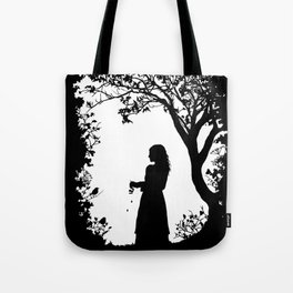 The Tale of the Juniper Tree Tote Bag
