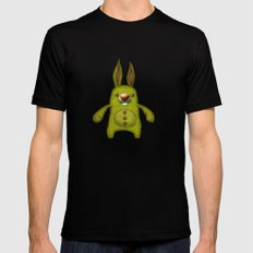 Bunny rag doll  Mens Fitted Tee Black MEDIUM
