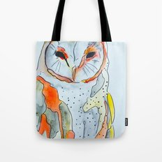 Red Owl  Tote Bag