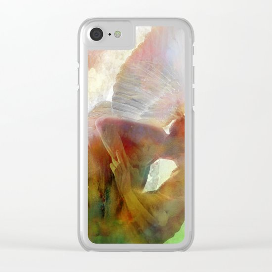 The kiss of the angel Clear iPhone Case