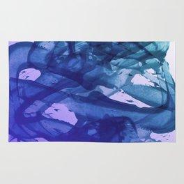 Blue Violet Bends Rug