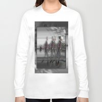 sam smith Long Sleeve T-shirts featuring Sam by Robin Curtiss