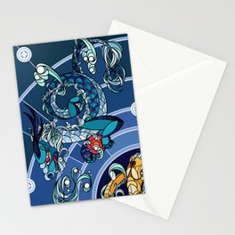 Divided Sky, Benevolent Beasts [2/4] Stationery Cards