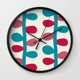 Like a Leaf [colours] Wall Clock