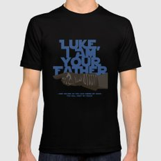 Luke I am your father... MEDIUM Black Mens Fitted Tee
