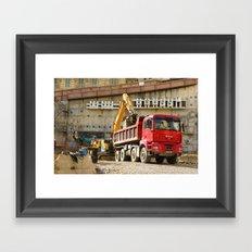 Monte Carlo Construction Framed Art Print