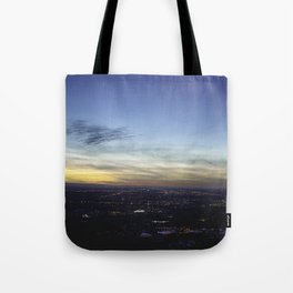 Boise Sunset Tote Bag
