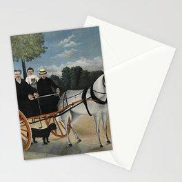 Henri Rousseau - La Carriole du Pre Junier Stationery Cards