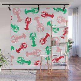Lobsters 01 Wall Mural