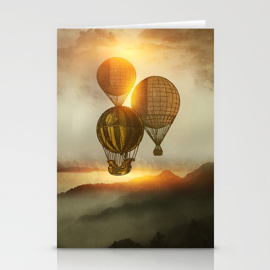 A Trip down the Sunset Stationery Cards