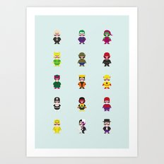 Really Super Warios Art Print