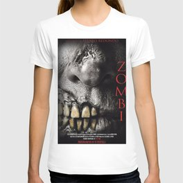 Zombi poster T-shirt