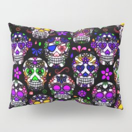 Candy Skulls Pillow Sham