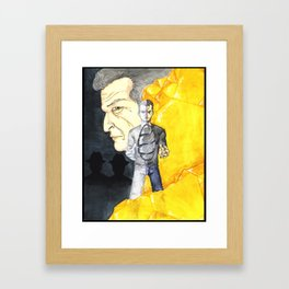 The Man from the Other Side Framed Art Print
