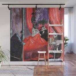 Cruella in Bed Wall Mural