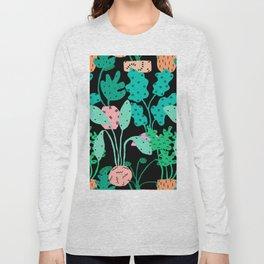 Postmodern Planters in Black Long Sleeve T-shirt