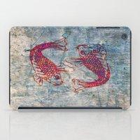 koi iPad Cases featuring Koi by Vitta