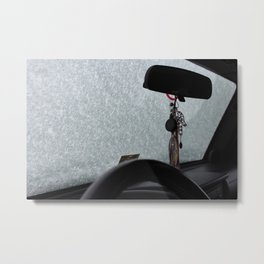 Car Jewelry Metal Print