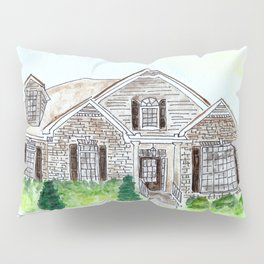 Southern Hospitality Watercolor, House Pillow Sham