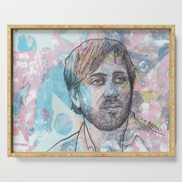 Dan Auerbach - King Of A One Horse Town Serving Tray