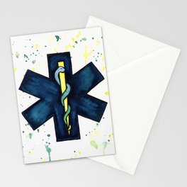 EMT Hero Stationery Cards
