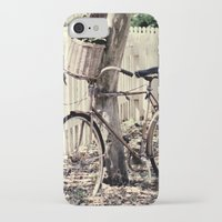 bike iPhone & iPod Cases featuring bike  by Beverly LeFevre