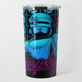 Murphy, it's you (black background)  Travel Mug